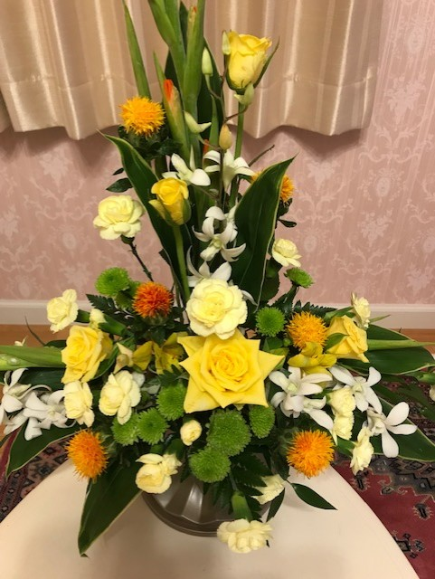 ウエディング装花💒❤